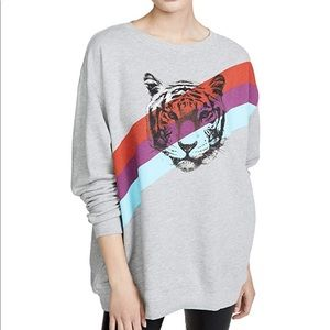 Wildfox Tiger Stripes Roadtrip Sweatshirt